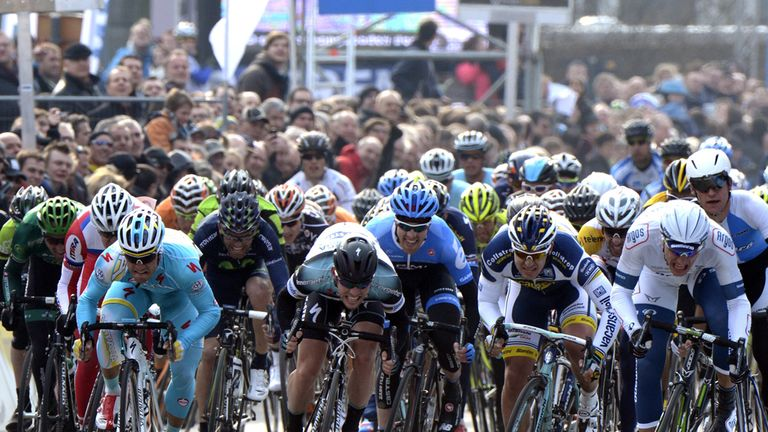 Scheldeprijs ends with a bunch sprint