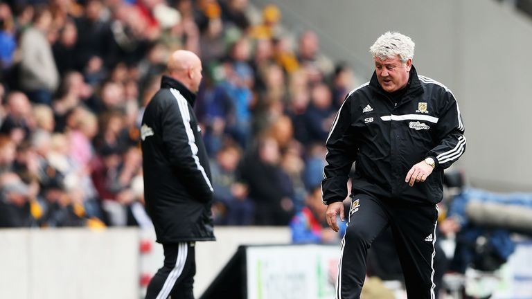 Steve Bruce: Admired Arsenal's performance in their 3-0 win over Hull