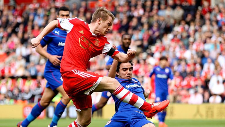 Steven Davis sees another chance going begging against Cardiff