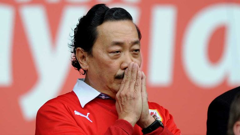 Vincent Tan:  Cardiff City owner