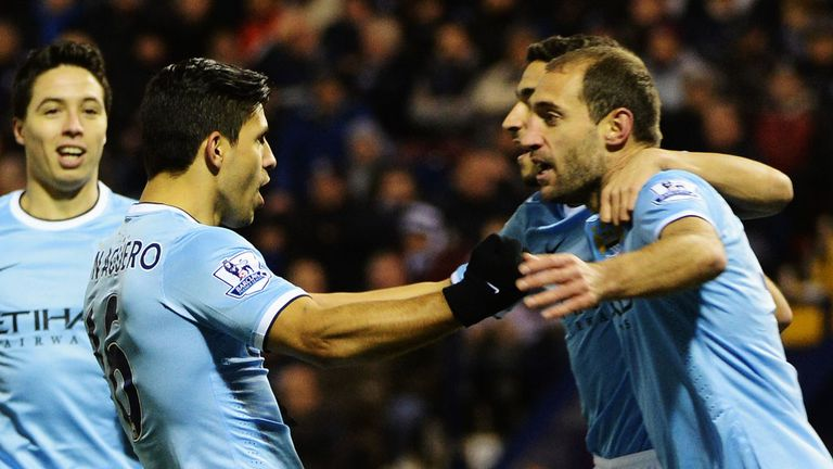 Sergio Aguero and Pablo Zabaleta: Crucial game looming for Argentine duo