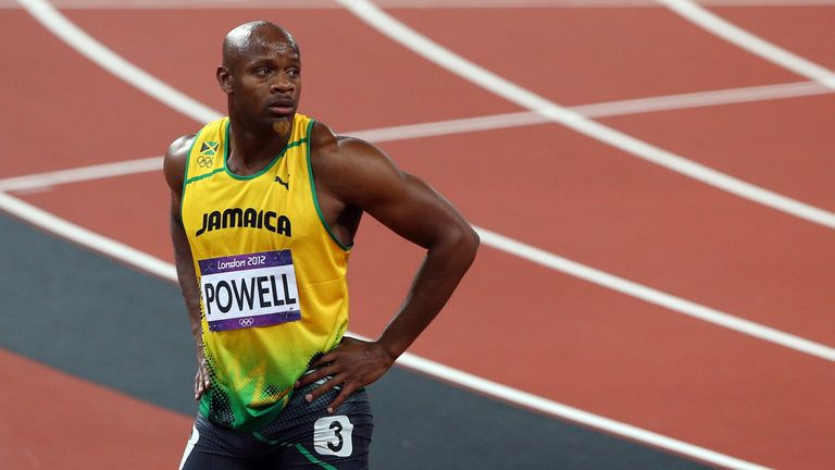 Asafa Powell: Appeals his doping ban