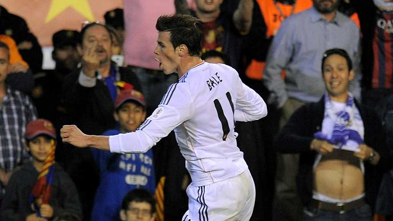 Gareth Bale: Real Madrid star celebrates Copa del Rey winner