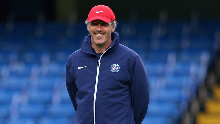 Laurent Blanc: Staying put at PSG