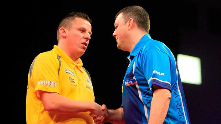 Dave Chisnall: The St Helens thrower sent his good friend Wes Newton out of the competition