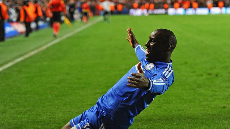 Demba Ba: The Senegalese star joins fellow African forward Samuel Eto'o in departing Chelsea