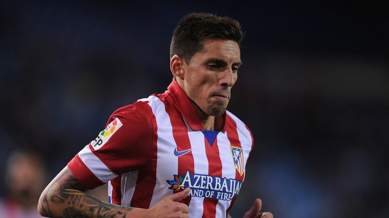 Jose Sosa: Atletico Madrid midfielder has called for concentration