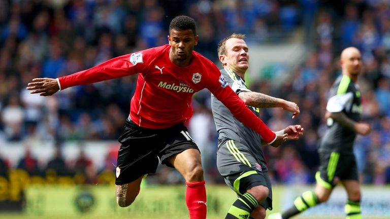 Fraizer Campbell: Crystal Palace have signed the striker from Cardiff City