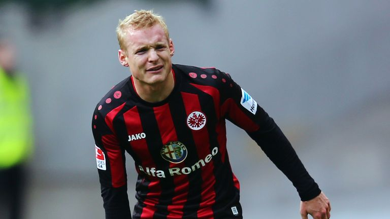 Sebastian Rode: Will join Bayern in the summer