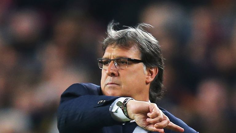 Gerardo Martino: Proud of his side's display against Atletico Madrid