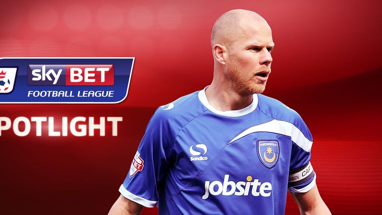 Johnny Ertl: Has helped Portsmouth to end the season with a flourish