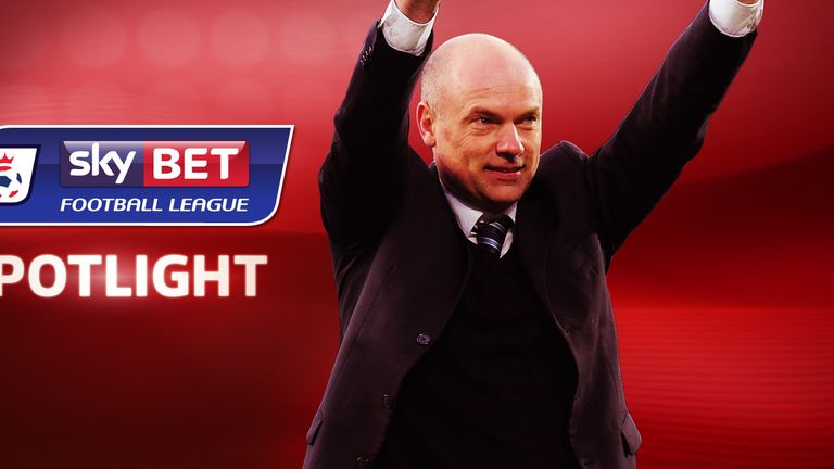 Uwe Rosler: Has Wigan pushing hard for promotion and further FA Cup glory