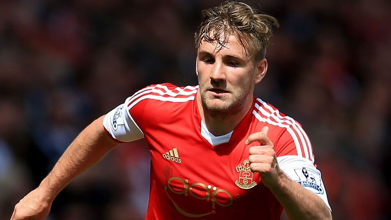 Luke Shaw: Southampton defender has been linked with a big-money move