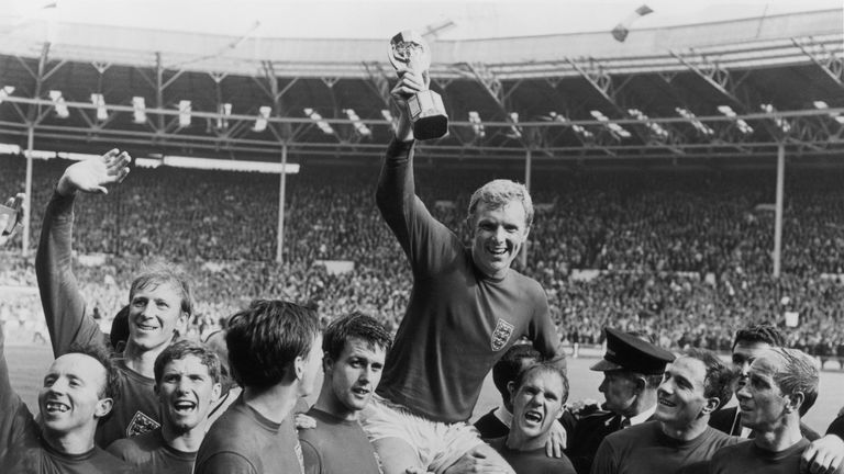 Bobby Moore: The only man to have ever lifted the World Cup for England