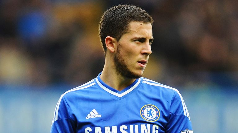 Eden Hazard scored 14 Premier League goals in 2013/14