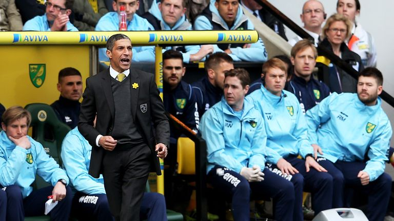 A home defeat to relegation rivals West Brom proved to be Chris Hughton's swansong at Carrow Road