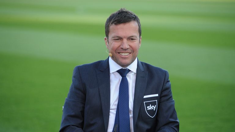 Lothar Matthaus picked just one non-German in his team - but he was a good 'un