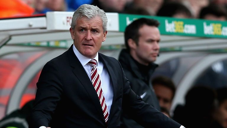Mark Hughes: Hopes for late charge up the table