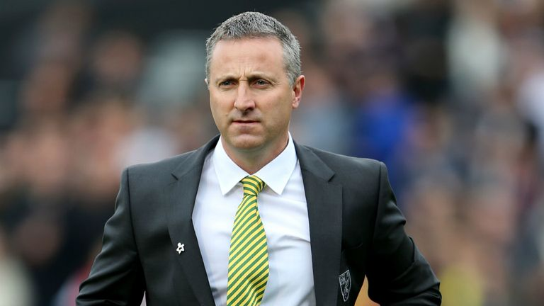 Neil Adams: Takes Norwich to Old Trafford this weekend