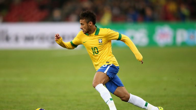 Samba star: Neymar demonstrated his talents at the Confederations Cup