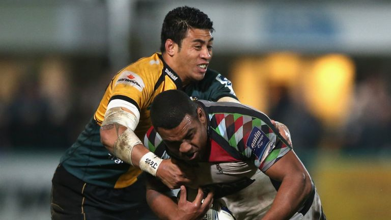 Kyle Sinckler: Harlequins prop given chance to impress