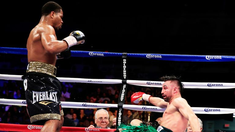 Shawn Porter: Set to face Kell Brook after halting Paulie Malignaggi
