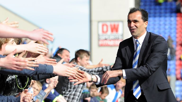 Roberto Martinez: Set for a busy summer