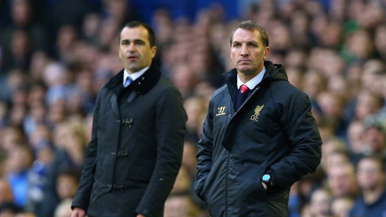 Roberto Martinez and Brendan Rodgers: Up for award