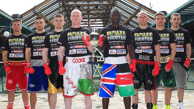 Prizefighter: Eight fighters will be targeting the £32,000 winner's cheque