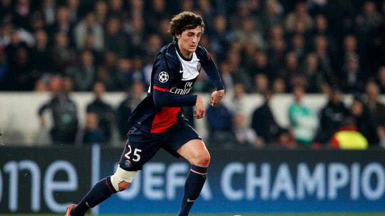 Adrien Rabiot: Could leave Paris Saint-Germain this summer