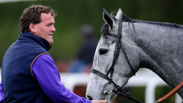 Richard Hannon with Sky Lantern