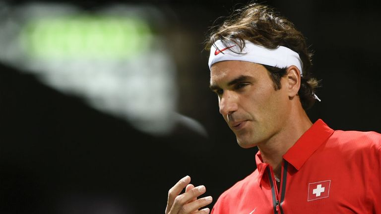 Roger Federer helped Switzerland reach the semi-finals