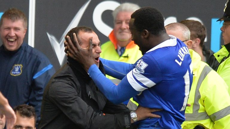Roberto Martinez: Had Romelu Lukaku at Everton on loan last season