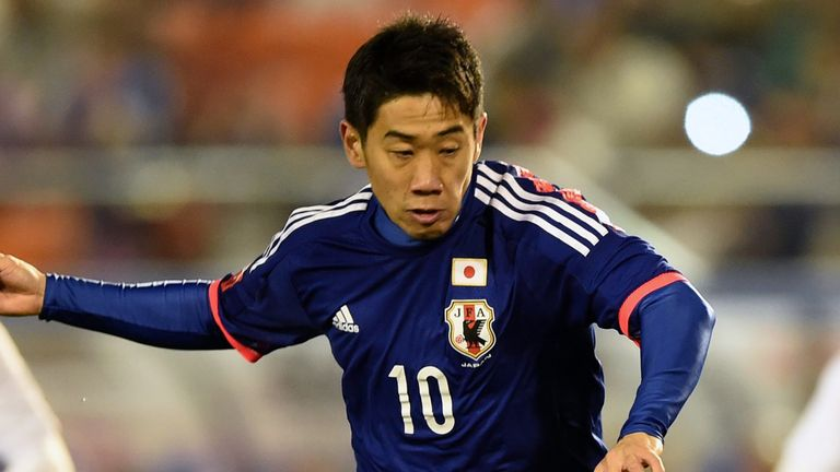 Shinji Kagawa: Focused on Japan's World Cup bid