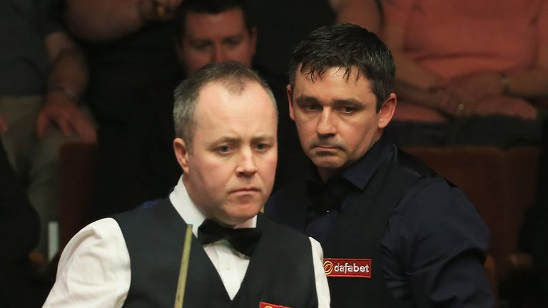 John Higgins: Shock first round defeat to Alan McManus