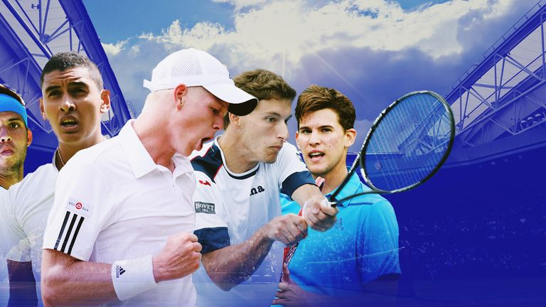 Jiri Vesely, Nick Kyrgios, Kyle Edmund, Pablo Carreno Busta and Dominic Thiem are the new kids on the block