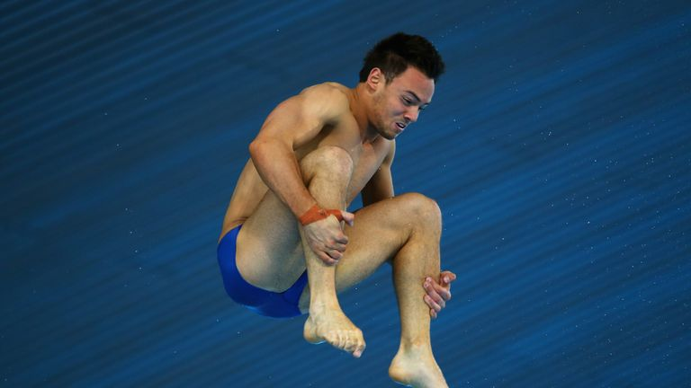 Tom Daley: GB diver finished fifth in World Series event in London