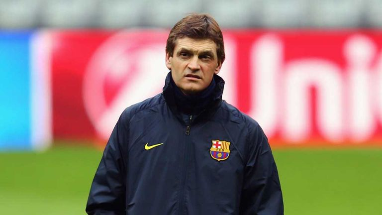 Tito Vilanova: Sad day for Barcelona as former coach passes away