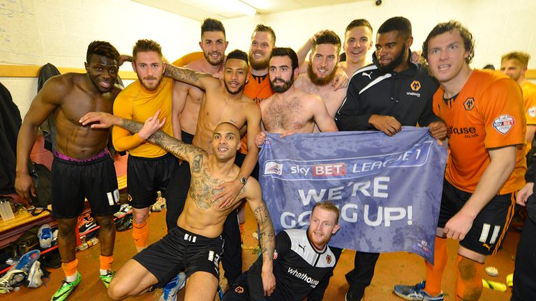 Dressing room harmony at Wolves