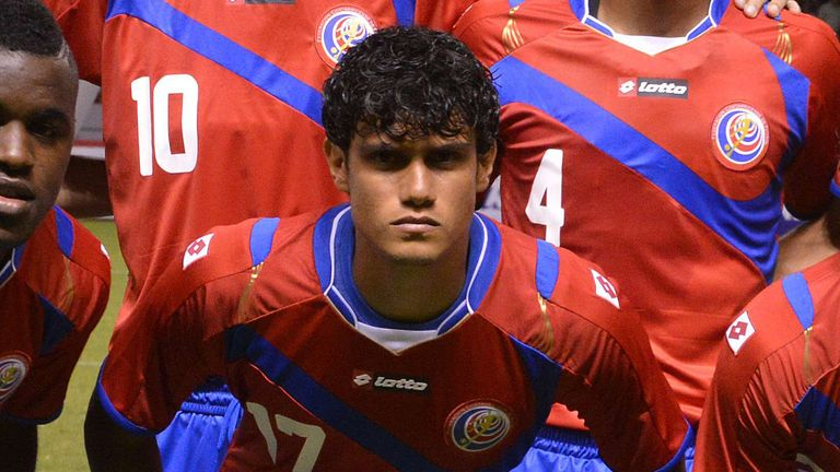 Yeltsin Tejeda: Attracting interest from England after impressing for Costa Rica