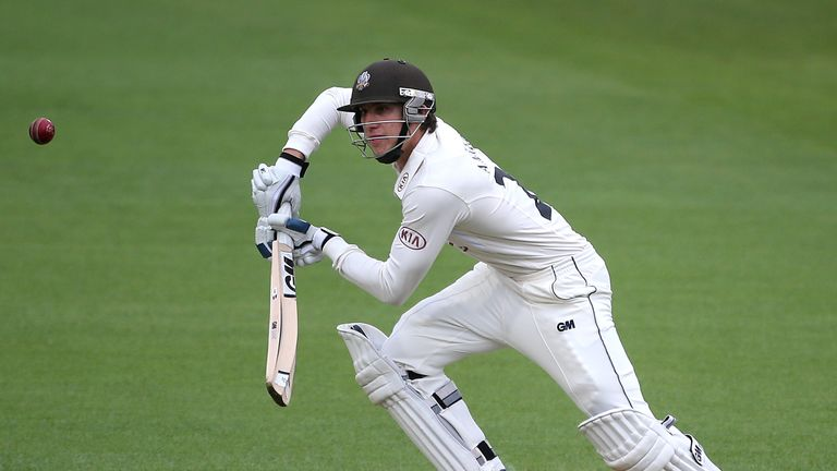 Zafar Ansari: Reached 60 not out for Surrey at the Oval from 224 deliveries