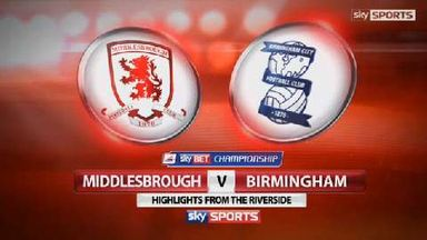 Middlesbrough 3-1 Birmingham