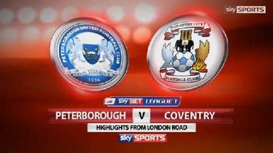 Peterborough 1-0 Coventry