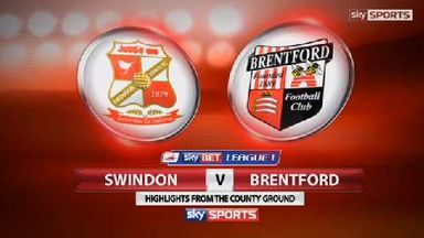 Swindon 1-0 Brentford