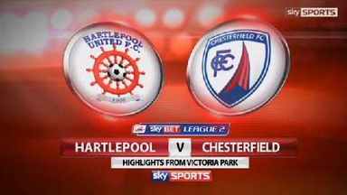 Hartlepool 1-2 Chesterfield