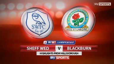 Sheff Wed 3-3 Blackburn
