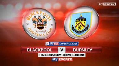 Blackpool 0-1 Burnley