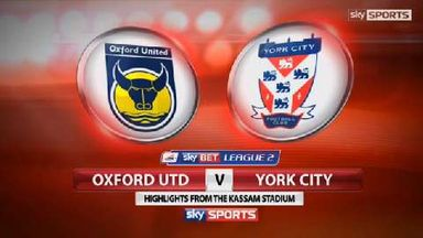 Oxford 0-1 York