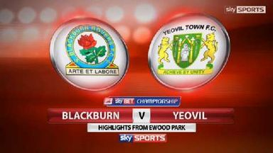 Blackburn 0-0 Yeovil