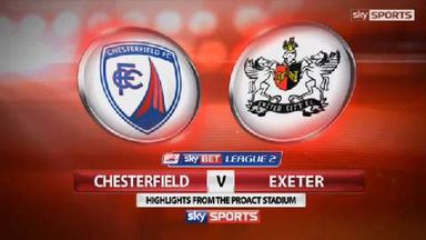 Chesterfield 1-1 Exeter
